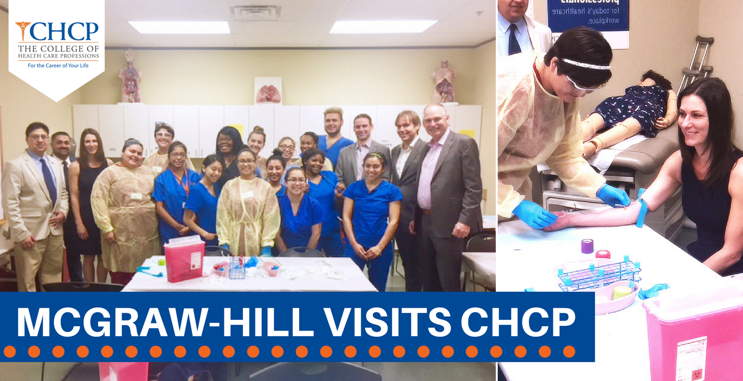 McGraw-Hill Visits CHCP