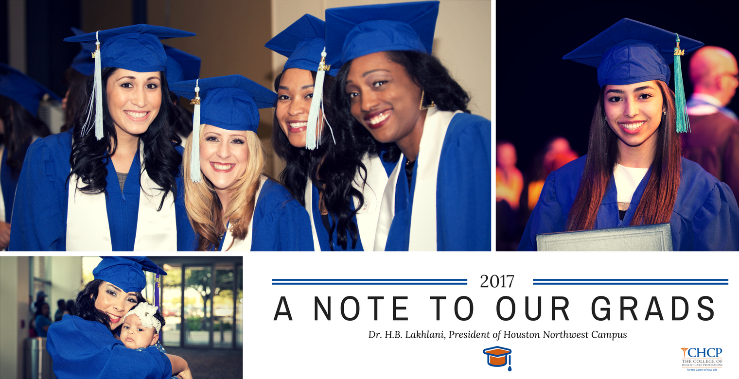 A Note to our Grads | Dr. H.B. Lakhlani