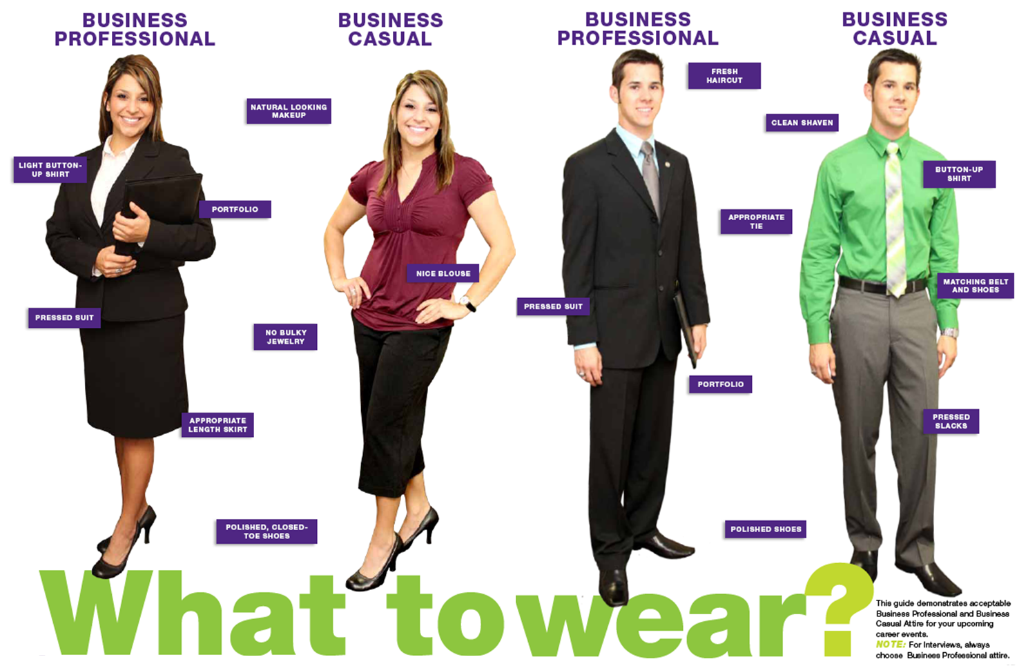 How To Dress For A Job Interview Updated Chcp Blog