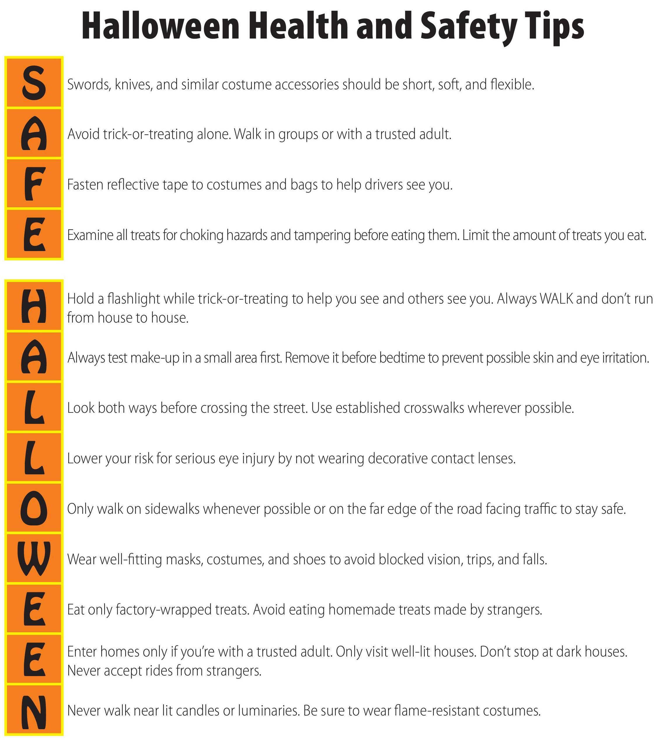 Halloween Health & Safety Tips | CHCP Blog